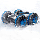 Long Control Remote Amphibious Stunt RC Car For Sale / Long Control Distance 2.4Ghz Amphibious Remote Control Car