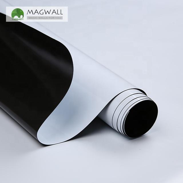 Magwall double-layer white board magnetic dry erase writing board customize Low MOQ soft PET film whiteboard sheet - Yola WhiteBoard | szyola.net