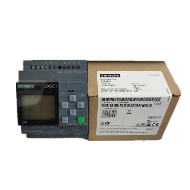 Brand new 6ED1052-1FB00-0BA8 siemens LOGO! 230RCE logic module