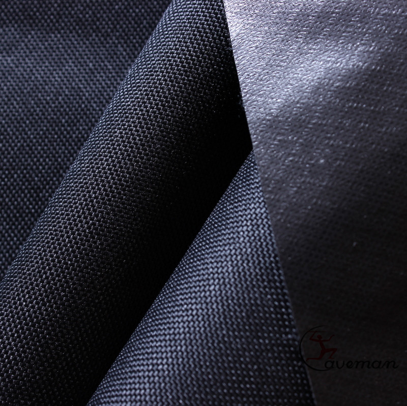 600D 100% RPET переработанная полиуретановая водонепроницаемая ткань из Оксфордского полиэстера