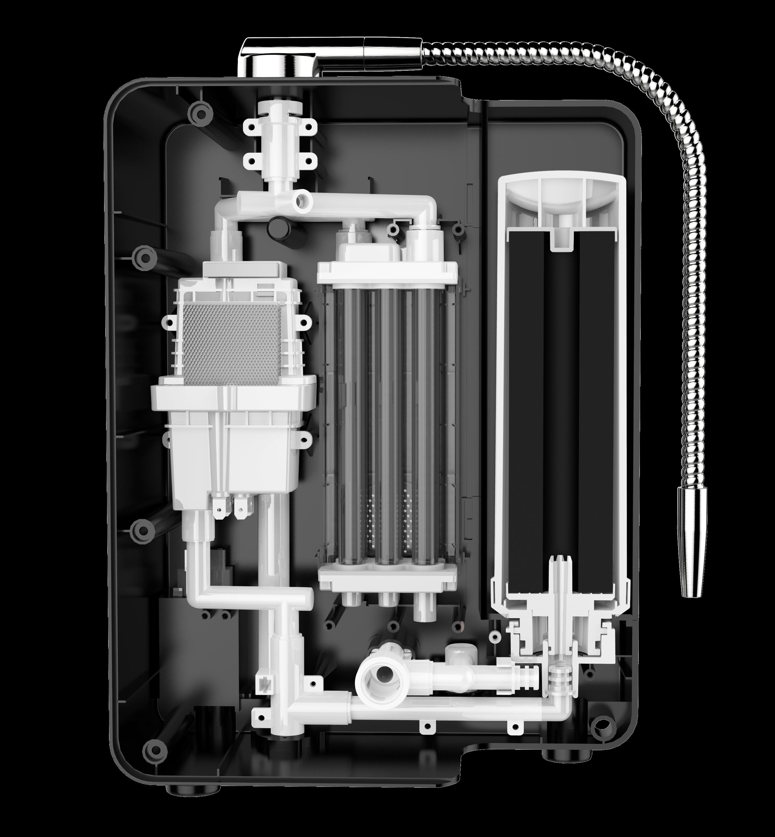 Аппарат для щелочной воды с водородом PH2.8 ~ 11