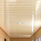 hot sale china factory price bathroom fireproof waterproof pvc ceiling tiles