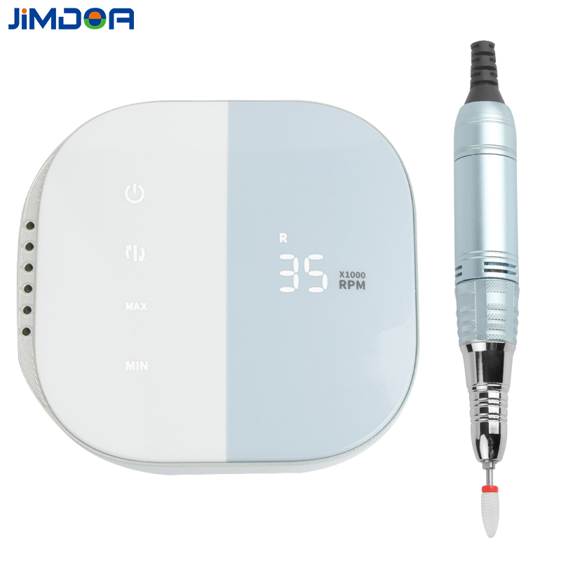 Jimdoa 2020 New Arrival Electric Nail Drill 35000rpm Nail Drill Machine Electric Nail Manicure Pedicure Machine