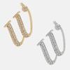 W - 18k gold or rhodium