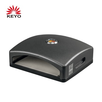 KEYO Outdoor Multi-Fuel Gas Charcoal Pellet Wood Fired Pizza Oven With Pizza Stone