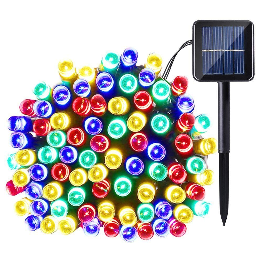 Outdoor Christmas Decoration LED Fairy Lights Two Modes for Home Lawn Garden Patio Wedding Holiday Party