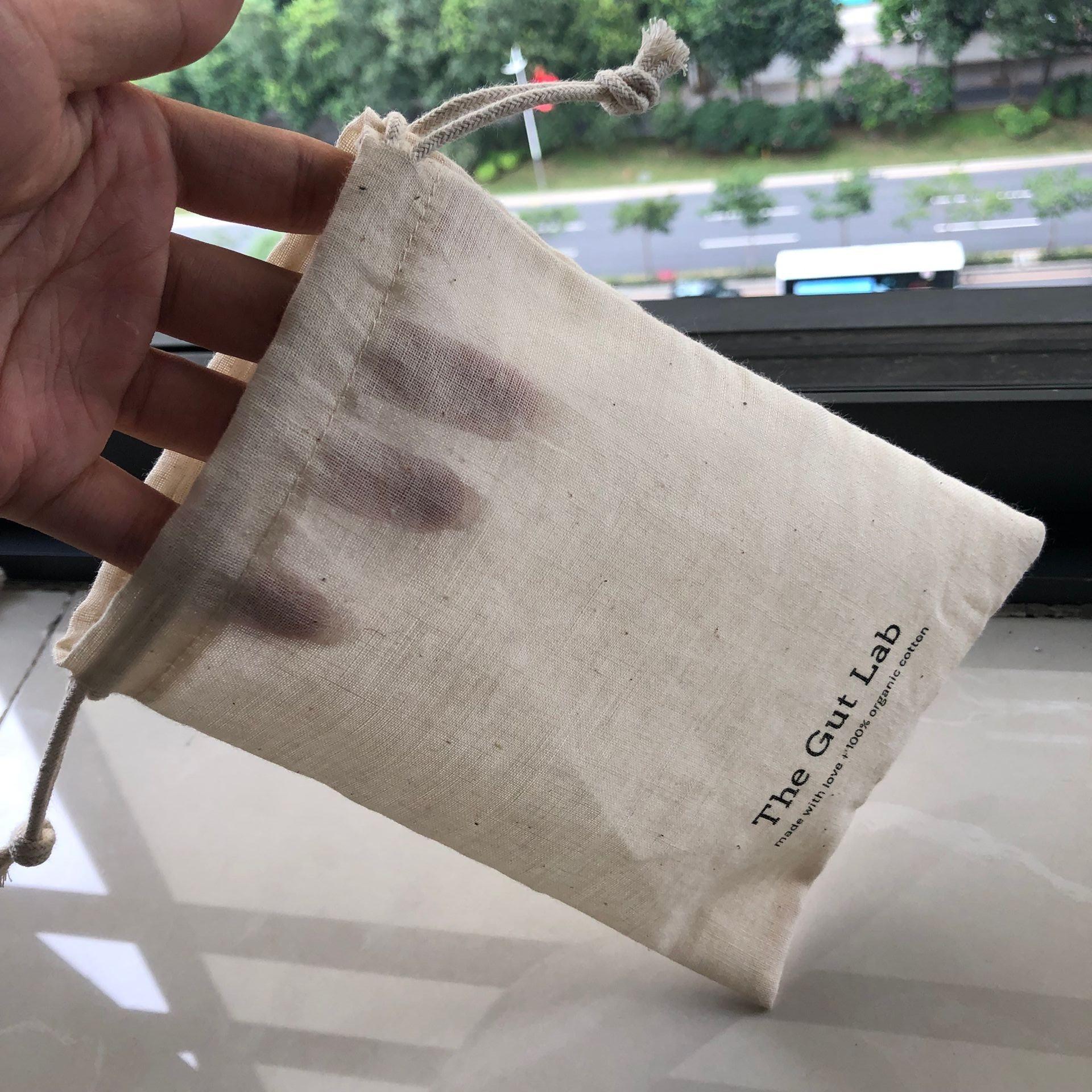 Супер мягкий хлопковый муслиновый Подарочный мешок на шнурке прозрачный хлопковый упаковочный мешок