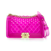 16873-Clear Hot pink