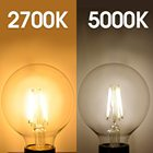 Bulb Glass Candle Glass Candle Bulb Factory Price E27 E12 Retro Edison LED 220V Light Bulb C35 A60 ST64 G80 G95 G125 4W 8W Glass Bulb Vintage Candle Filament Bulb