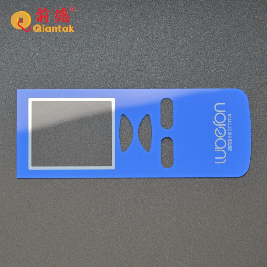 Высококачественная акриловая передняя панель дистанционного управления на заказ