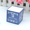 white pearl inner box, navy blue pearl sleeve