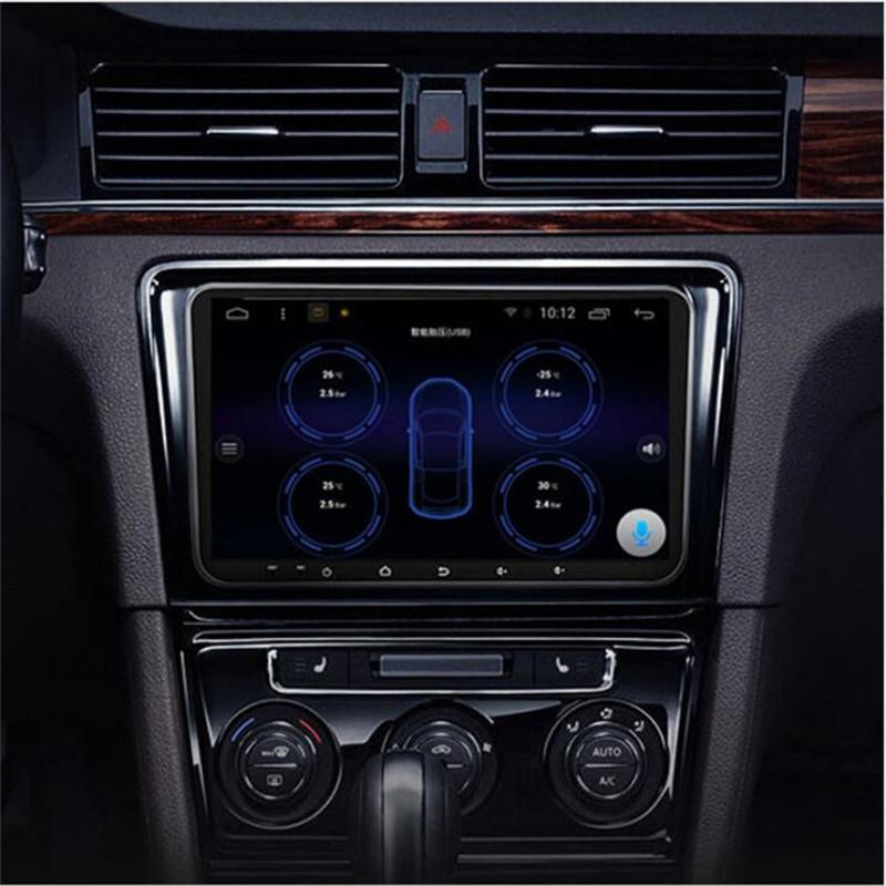 Беспроводная система контроля давления в шинах TPMS для Android-навигации с внутренним датчиком, tpms для автомобильного dvd-плеера