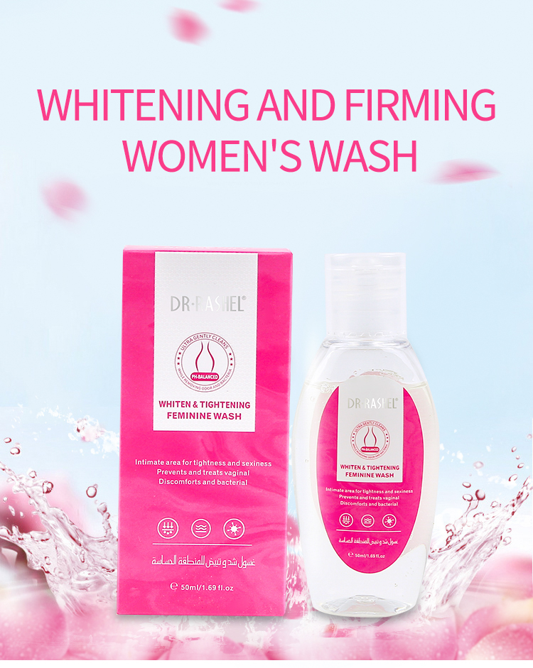Portable DR RASHEL Whiten and Tightening Feminine Wash for Private Parts