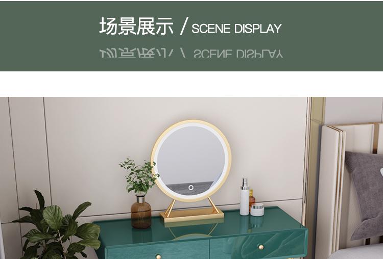 الحديثة الصغيرة ضوء غرفة نوم فاخرة مكتب خزانة متكاملة الشمال الحديثة ماكياج مضمد