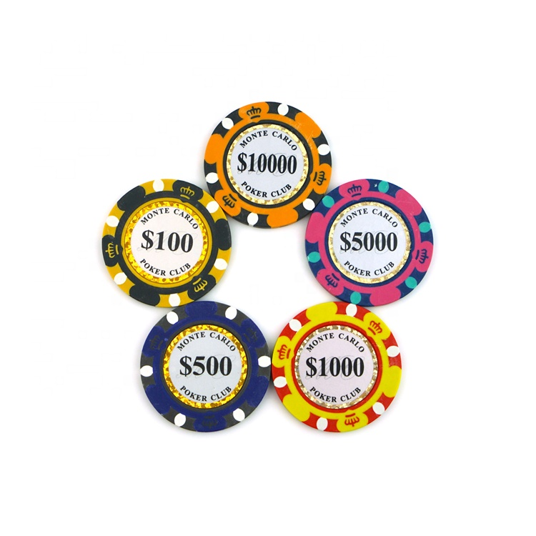 Wholesale Custom Cheap Juego Ball Marker Solid Colored Clay Poker Chips