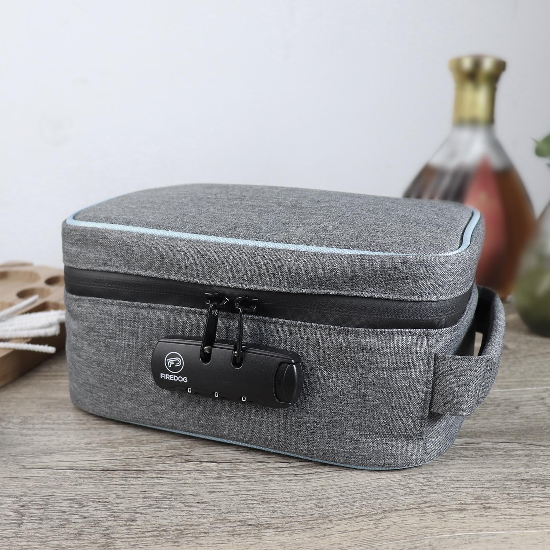 Чехол с защитой от запаха, карбоновая сумка с защитой от запаха и комбинированным замком для сорняков