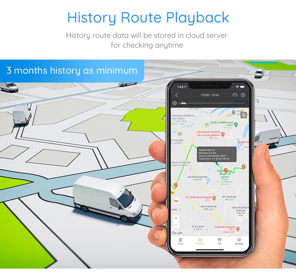 GPS Tracker System 12