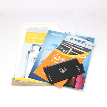 Customized full colour printing advertising brochure,flyer printing,catalog instruction