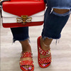 SKU08-RED bee bag with Red Punk shoes