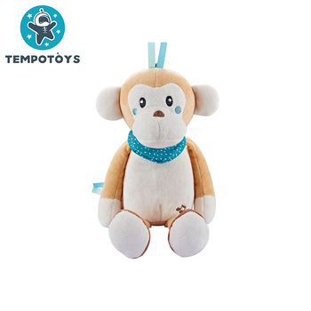 Baby Konig Kids Juguete Monkey Koala Soothing Musical Stuffed Plush Toys For Sleeping