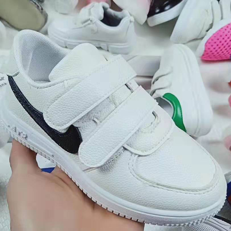 Best sellers wholesale fashion leisure sports shoes kids white sports shoes