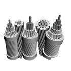 Astm Standard Cable Bs Iec Astm Din Aluminum Acsr Reinforced Cable ASTM Standard 1033.5kcmil Acsr Curlew Snowbird Code Name Price Overhead Bare Aluminum Conductor Steel Reinforced Cable
