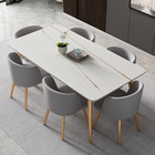 Luxury Italian Dinner Dining Tabled And Chairs 6 Luxury Dinning Chairs Modern Marble Dining Room Table Set