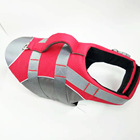 Life Warning Color Large Dog Life Jacket With Lifting Handle For Water Sports And Water Activity