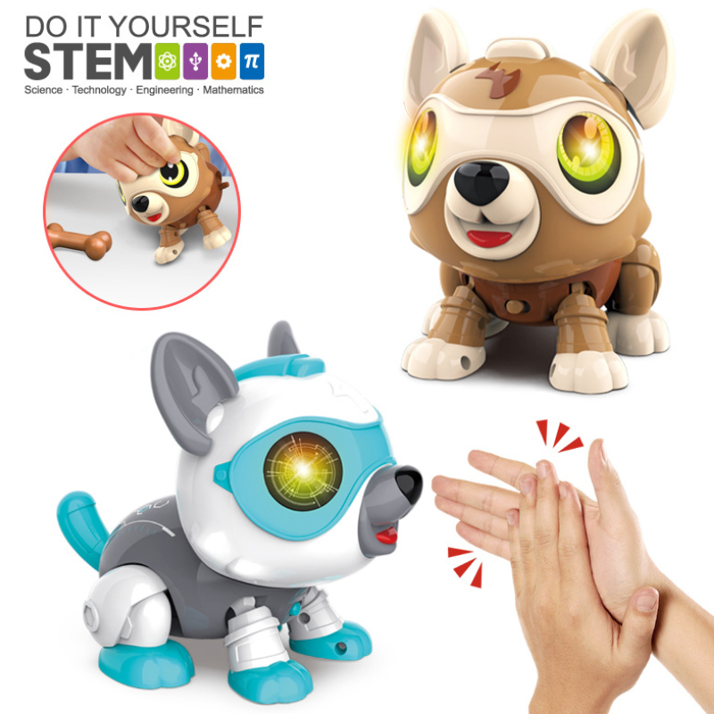 2021 Christmas Robot Zigotech 2021 Christmas Gift Kids Home Gift Interactive Stem Robot Diy Kid Dog Toy Buy Kit Kits Projects Science Physics For Kids Educational Toys Stem Education Diy Cat Animal Robot Dog