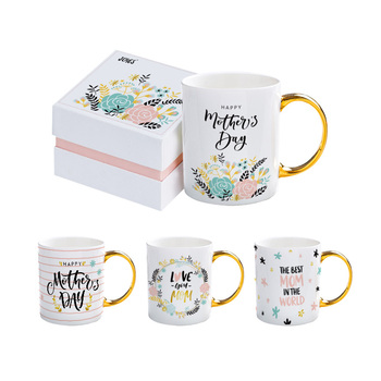 Personalized Promotional Porcelain Custom LOGO Printed Blank White Mug Cups Coffee Ceramic mugs