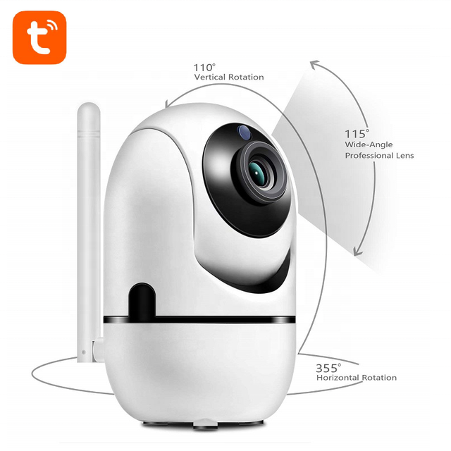 WiFi Home Security Surveillance TUYA Camera 1080P Smart Baby Monitor Motion Detection Night Vision camera