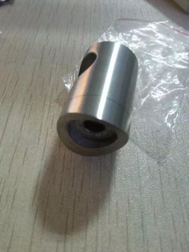 304 316 inox stainless steel handrail tube pipe cross rod bar holder for staircase railing