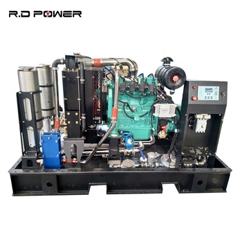 Off Grid Chp 30kw Micro Cogenerator Natural Gas With Heat Recovery