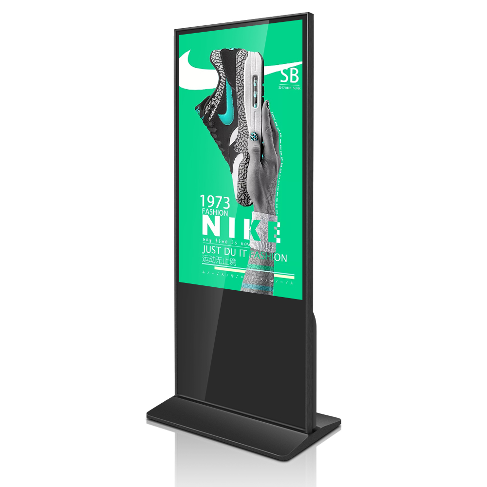 Interactive Totem 43 Inch Ipad Kiosk Stand Display Computer Advertisement Samples 360cd/m2 I3/i5/i7 CPU Optional Refee or OEM