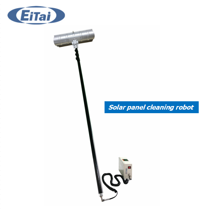 CN-43 EITAI CE Certificate 3.6m 5.4m 7.2m Length Brush Cleaning Robot for Solar Panel