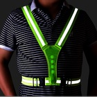Top Vest High Quality Vest Top Design Hi-Vis High Quality Flashing LED Running Vest