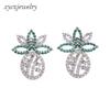 Silver plated earrings-6