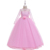 Wholesale children clothes lace sleeve birthday party dress evening party dress