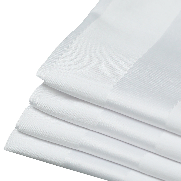 Белая хлопковая ширина 110