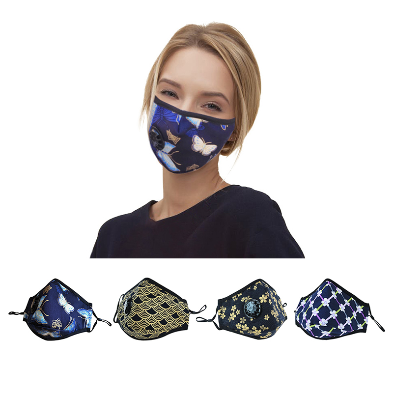 Adult kids woman man Anti Air Pollution Activated Carbon Filter PM2.5 Face Mask - KingCare | KingCare.net