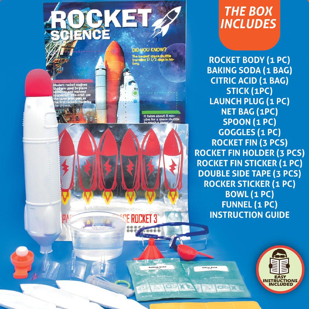 Best Selling Outdoor Flying Foam Air Water Launcher Model Rocket Toy for Kids