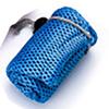 Acero inoxidable 401 azul