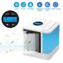 Портативный мини-вентилятор для кондиционера персональный космический вентилятор охладитель USB Arctic охлаждающий увлажнитель Быстрый прост...(Китай)