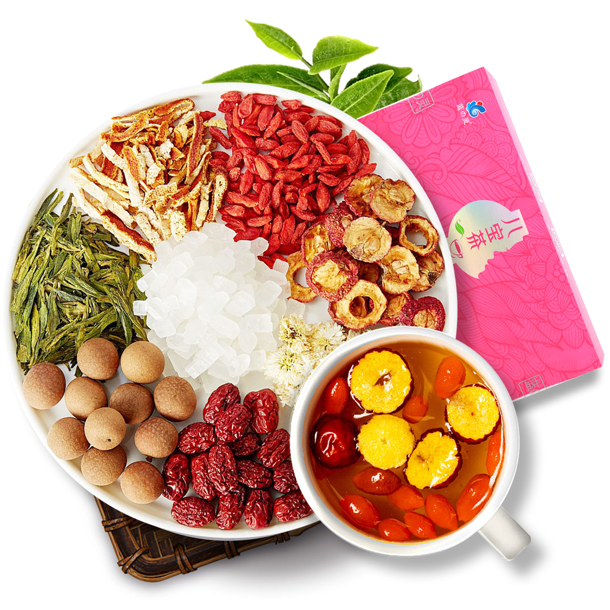 Chinese Herbal Flower Tea Whitening Herbal Tea Assorted Chinese Herbal Tea - 4uTea   4uTea.com
