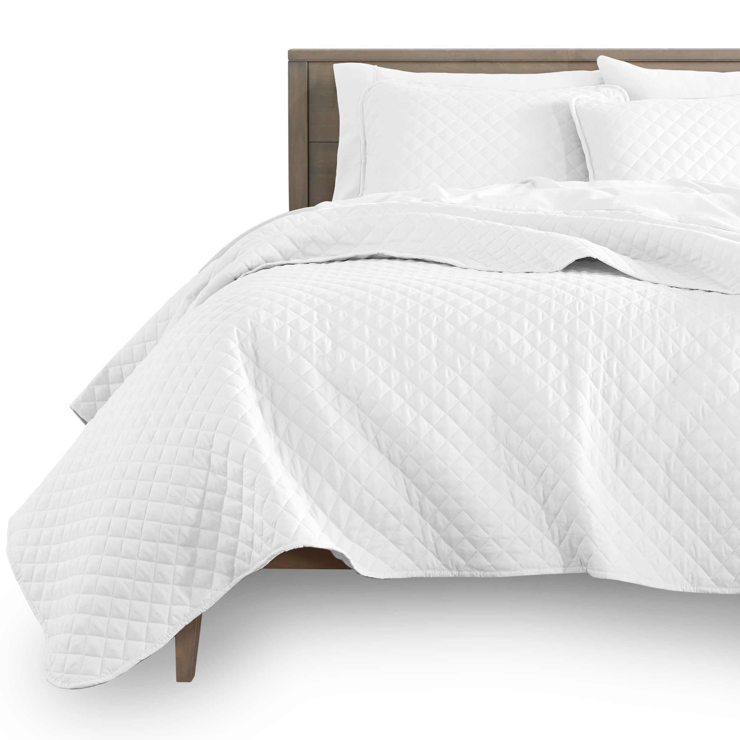 KOSMOS Full / Queen Home Quilt Bed Sheets Bed Textile Bedding 100% Microfiber Coverlet set