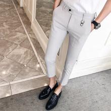 Брюки-карандаш в полоску для офиса, повседневные облегающие брюки для свадьбы, уличная одежда, лето 2020(Китай)