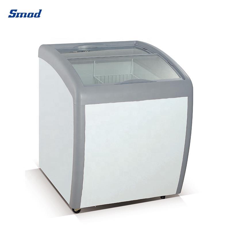 Морозильная камера со стеклянной дверью SMAD 260L для мороженого