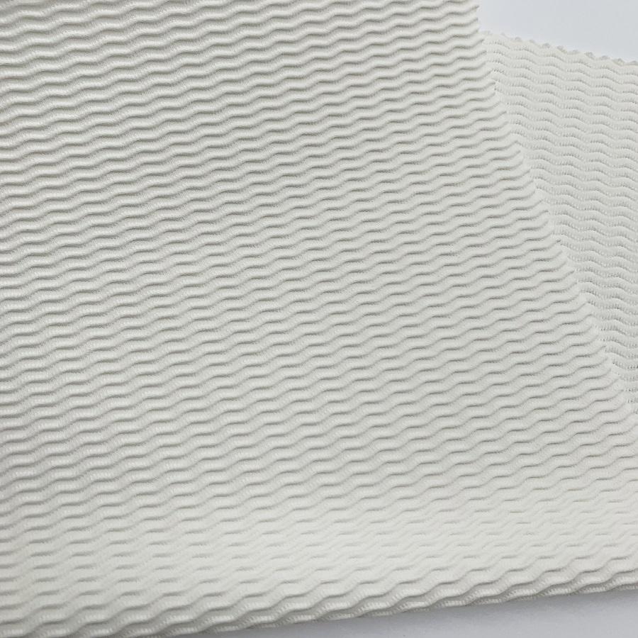 recycled textured nylon spandex swimwear fabric ecofriendly knitting bikini fabric