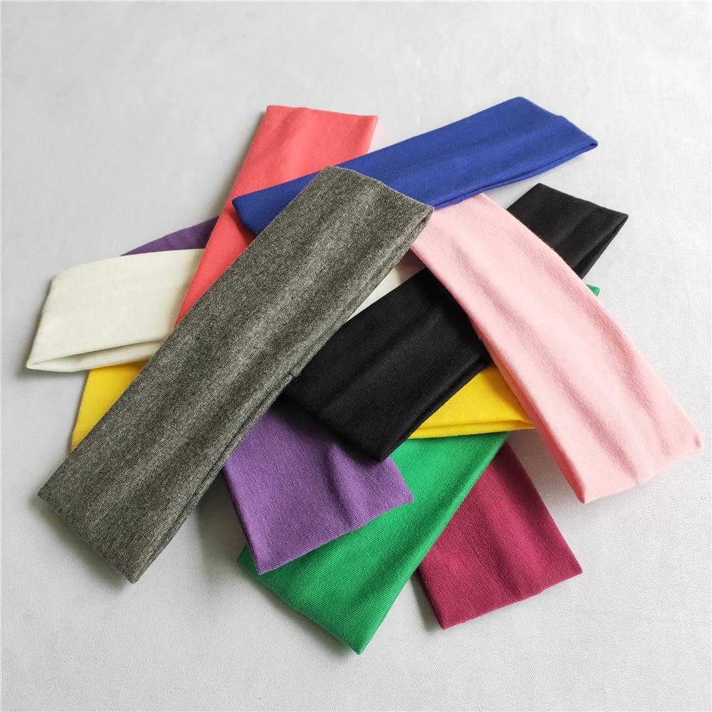 Лидер продаж, удобная эластичная повязка на голову, спортивная повязка для волос
