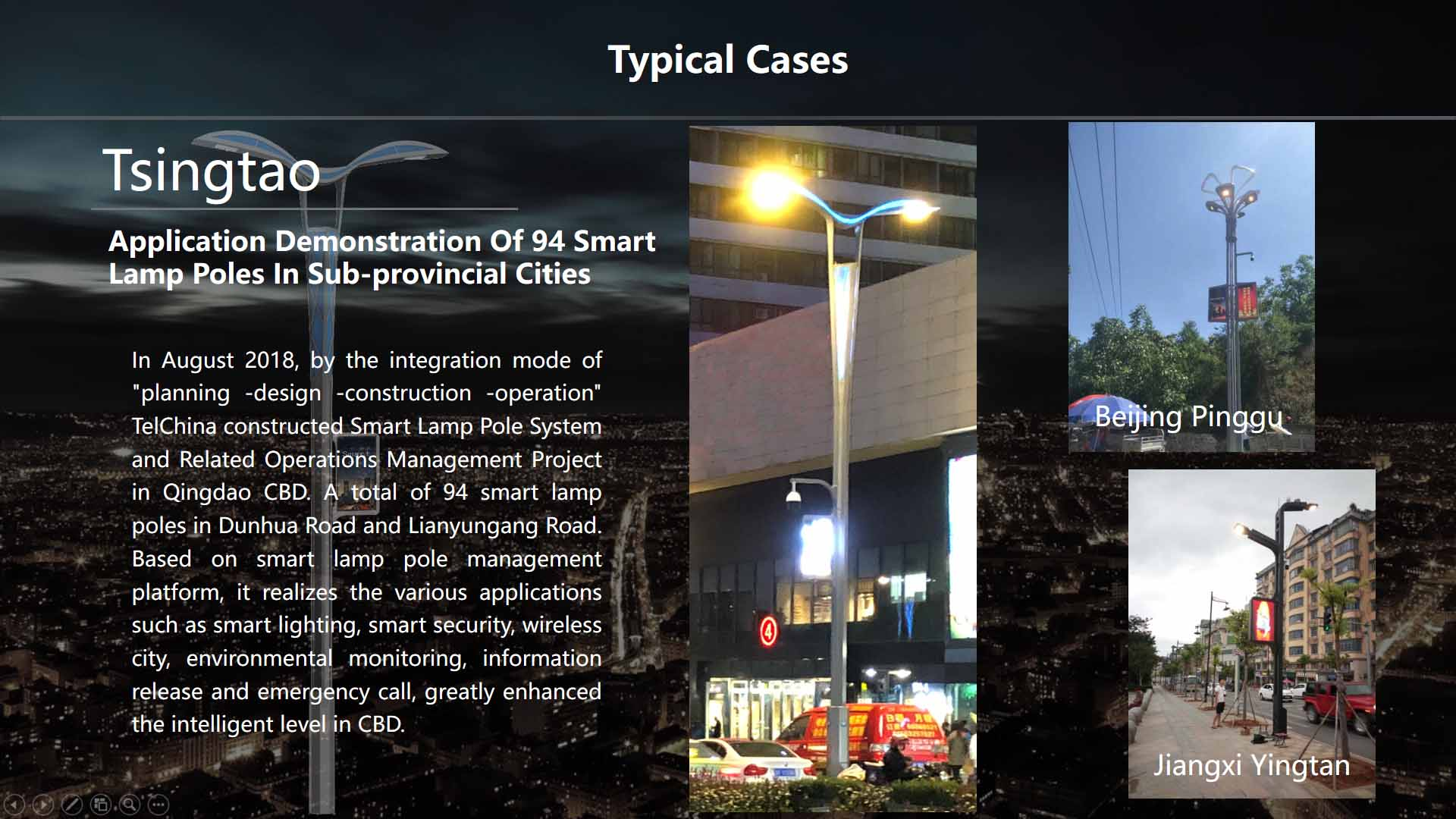 Hot-selling High-quality Energy-saving Led Street Light Smart Street Light with WIFI Charge Pile